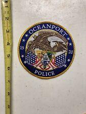 Oceanport New Jersey Police patch NJ