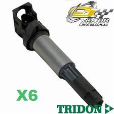 TRIDON IGNITION COIL x6 FOR BMW  325Ci E46 05/04-02/07, 6, 2.5L M54