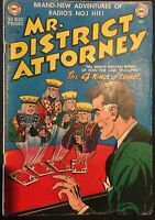MR. DISTRICT ATTORNEY. NO. 19. GOLDEN AGE DC NATIONAL COMICS. SCARCE. PURCELL