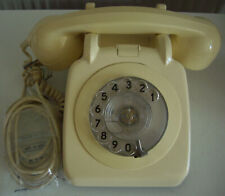 GPO BT 706 IVORY ROTARY TELEPHONE RETRO STYLE FREEPOST