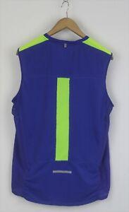 NIKE DRI-FIT Men's LARGE Sleeveless Running Sports Tank Top T-Shirt 26203-GS