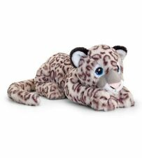 Keeleco Beige 45cm Snow Leopard Soft Plush Stuffed Toy Kids/children 3y