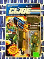 New GI Joe BIG BEAR Oktober Guard Anti-Armor Specialist -1991 ARAH Toy Figure