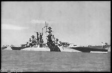 USS Alaska CB-1 postcard  US Navy warship large cruiser