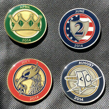 Callaway Commemorative Coin Ball Markers - Set of 4 from 2014