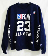 Flight Club New York Navy Blue NBA All-Star Jersey inspired Crewneck Sweatshirt