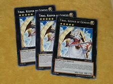 BP01-EN029 Tiras, Keeper of Genesis Rare 1st Edition X3 PLAYSET
