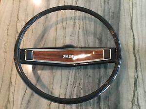 1969 Original OEM Chevrolet Camaro RS Steering Wheel HARD TO FIND