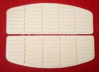 Harley Shovelhead White Floorboard Rubber SET New (335)