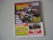 MOTOSPRINT 21/1992 HONDA CBR 900 RR/HONDA NSR 125 RAIDEN