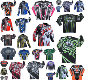 Wulfsport Adult Race Shirts Motorbike Motocross MX Leisure Top Ride Quad BMX