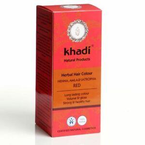 Khadi Herbal Natural Hair Colour Henna, Amla & Jatropha 100g