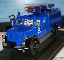 ☣ 111 SPECIAL POMPIERS WIKING TRAILER FIRE REMORQUE POMPIERS SCALE 1:87 H0 USED