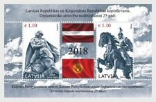 Letland / Latvia - Postfris/MNH - Sheet Joint-Issue with Kyrgyzstan 2018