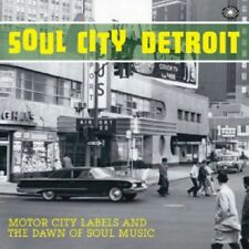 ** VARIOUS ARTISTS  SOUL CITY DETROIT  2CD  EARLY MOD SCOOTERIST SOUL!!