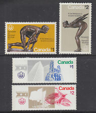 Canada Sc 656/688 mint 1976 Montreal Olympics, 2 cplt sets, VF