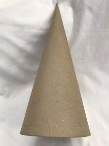 paper mache cones Open Bottom 10.63 X 4 Inches 3 Pieces