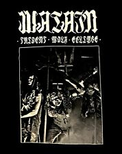 WATAIN cd lgo Band Photo TRIDENT WOLF ECLIPSE Official SHIRT XL new