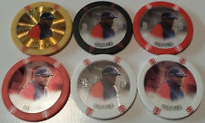 2014 TOPPS CHIPZ DAVID ORTIZ GOLD BORDER GOLD FOIL/BLACK GLOW/RED GLOW/RED/GLOW