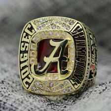 NCAA 2016 Alabama Crimson Tide SEC National Football Championship Ring 8-14Size