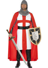 Adulto ST. George Crociato Cavaliere Costume
