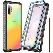 For Galaxy Note 10+ Plus 5G Case Built-in Screen Protector Full Body Protection