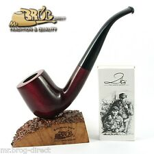 Mr.Brog original smoking pipe nr. 38 RED SMOOTH CLASSIC *OLD BOY* HAND MADE