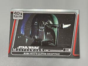 2020 Topps Star Wars Masterworks Empire Strikes Back 40th Anniversary ESB-19