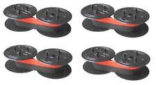 4x nastro della macchina gruppo 51 D nylon rosso/nero per Canon SP 1260 CP 1000 ta 1012 1121
