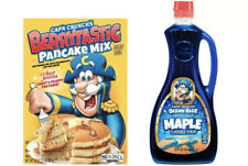 Cap'n Crunch x Jemina Berrytastic Pancake Mix & Ocean Blue Maple Syrup Bundle