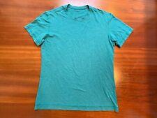 Lululemon Mens Tee Metal Vent Tech T Shirt Short Sleeve Fitness Blue Sz. Medium