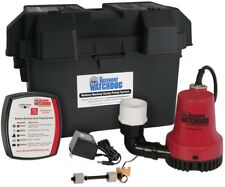 Emergency Battery Backup Sump Pump System Basement Auto Pumping For Power Outage