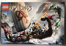 Lego 7018 & 7019 VIKING Fortress Dragon & Ship Serpent New Factory Sealed
