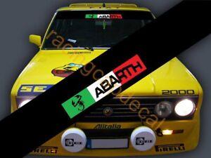 Fiat ABARTH Scorpion Sun Strip Visor Windshield Decal Sticker 124 131 500 Punto
