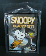 McDonalds Happy Meal Toy Snoopy Blasts Off Book #3 NIP Space