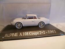 RENAULT ALPINE A108 COUPE 2+2 1961 1/43 I1