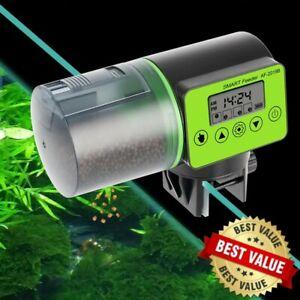 Automatic Fish Feeder Aquarium Smart Food Tank Feeding Dispenser Timer Auto