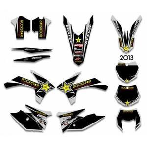 KTM 125 200 250 300 350 450 500 EXC 2012-2013 GRAPHIC DECALS STICKER KIT