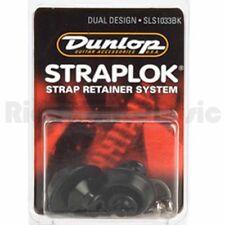 Jim Dunlop SLS1033BK Strap Lock DUAL DESIGN - SET