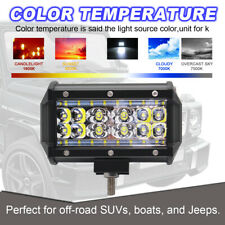 2x1000W LED Arbeitsscheinwerfer Offroad Scheinwerfer 12V 24V für Jeep SUV Bagger