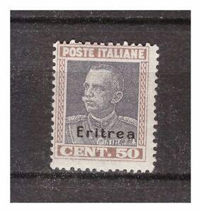 s9943) ERITREA 1928 MXLH* Nuovo Linguellato* Sass. 128 1v 50c OVPTD