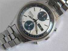 Seiko 6138-8020 Panda Chronograph  original bracelet Ca 1977