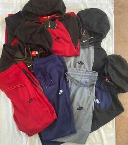 Nike Tech Suit Jogger Tech Fleece Top & Bottom Complete Set S,M,L,XL,3XL,4XL