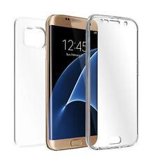 TPU Trasparente Cover Integrale Custodia Protettiva Per Samsung Galaxy S7 Edge