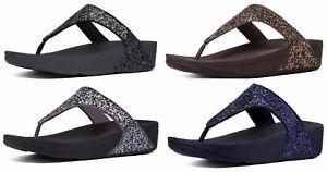 FitFlop Women's Glitterball Toe-Thong Sandals
