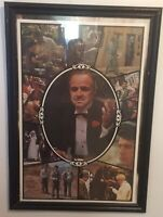 """""""SALE""""   RARE - THE GODFATHER ORIGINAL """"LOBY POSTER"""" MINT ROLLED"""