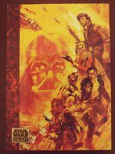 1993 Topps Star Wars Galaxy Series 1 Sepia Empire Strikes Back Base Card #70