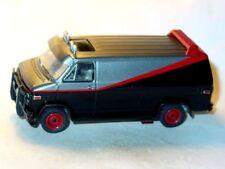 1983 83 Gmc Vandura A Team Van Collectible Diecast Movie Car -Black/Grey, 1/64