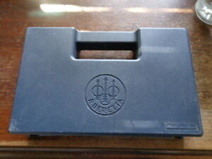 Older Beretta 92FS 9MM Blue Factory Pistol Case