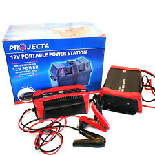 Projecta Battery Charger, Projecta Pure Sine Inverter 600W & Battery Box Kit